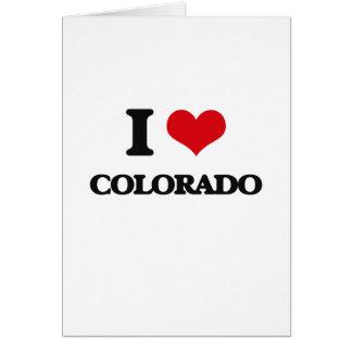 I Love Colorado Greeting Cards