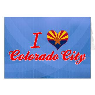 I Love Colorado City, Arizona Greeting Cards