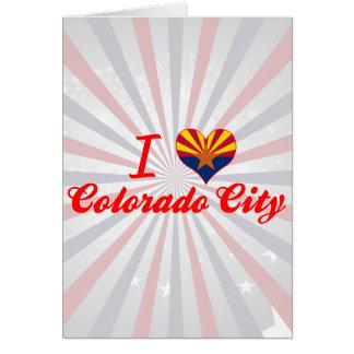 I Love Colorado City, Arizona Cards