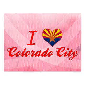 I Love Colorado City, Arizona Post Card