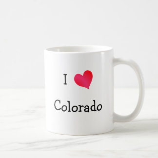 I Love Colorado Coffee Mug