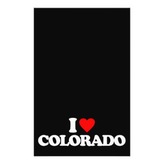 I LOVE COLORADO PERSONALIZED FLYER