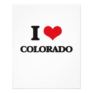 I Love Colorado Personalized Flyer