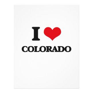 I Love Colorado Flyer Design