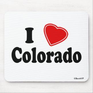 I Love Colorado Mouse Pad