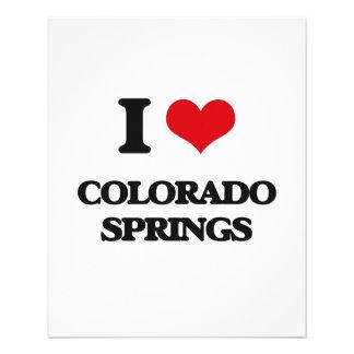 I love Colorado Springs Flyer Design