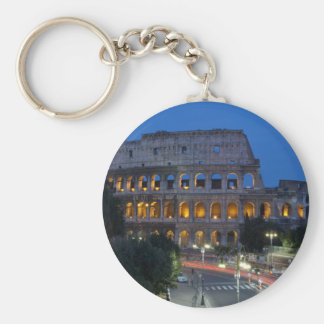 I love Colosseum by night Key Ring