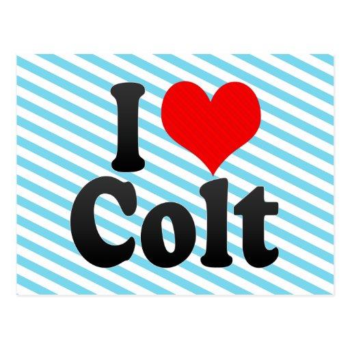 I love Colt Post Cards