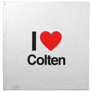 i love colten napkins