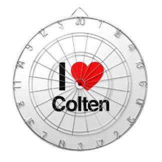 i love colten dartboard