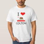 I Love COLTON California T-shirts