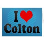 I love Colton Card