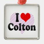 I love Colton Christmas Tree Ornament