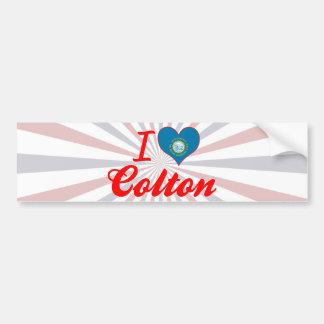 I Love Colton, South Dakota Car Bumper Sticker