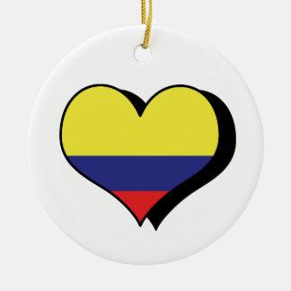 I Love Columbia Ornament