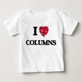 I love Columns Tshirts