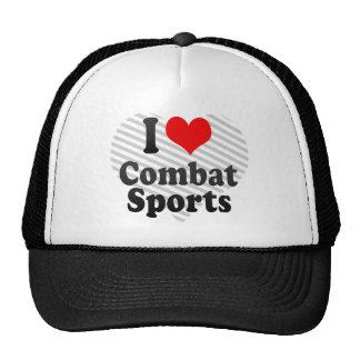 I love Combat Sports Hat