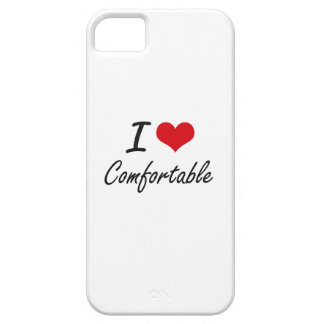 I love Comfortable Artistic Design Barely There iPhone 5 Case