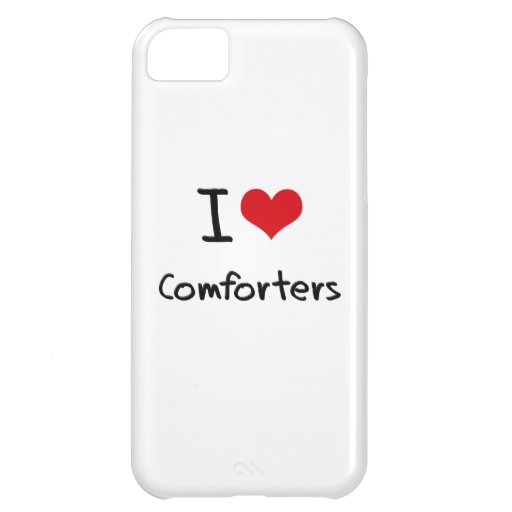 I love Comforters iPhone 5C Cover