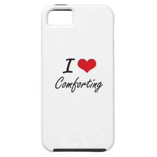 I love Comforting Artistic Design Case For The iPhone 5