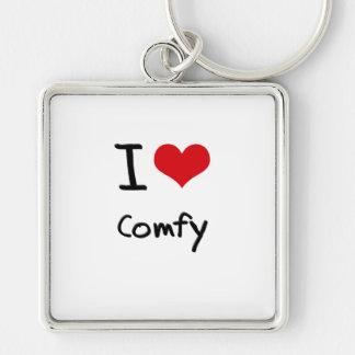 I love Comfy Keychains