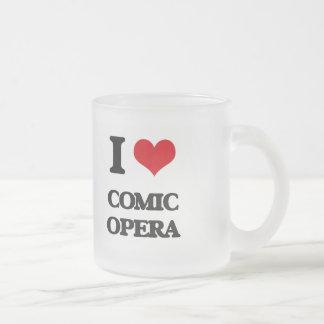 I Love COMIC OPERA Coffee Mugs