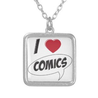 I Love Comics! *Heart* Custom Jewelry