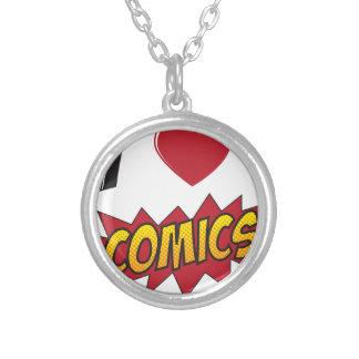 I love comics! necklaces