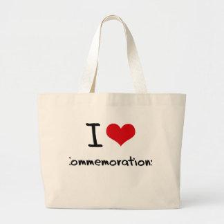 I love Commemorations Tote Bag