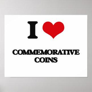 I love Commemorative Coins Print