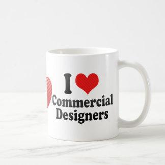 I Love Commercial Designers Coffee Mug