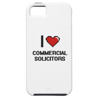 I love Commercial Solicitors iPhone 5 Case