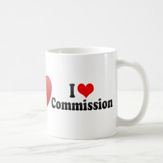 I Love Commission Coffee Mug
