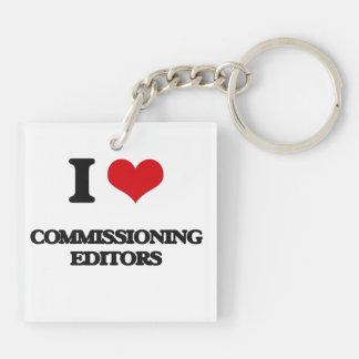 I love Commissioning Editors Acrylic Key Chains