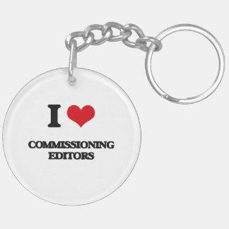 I love Commissioning Editors Acrylic Keychains