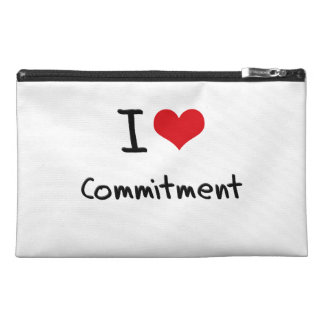 I love Commitment Travel Accessories Bags