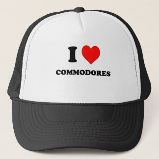 I love Commodores Trucker Hat