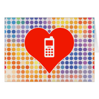 I Love Communication Card