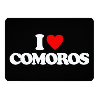 I LOVE COMOROS CUSTOM INVITE