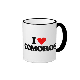 I LOVE COMOROS MUG