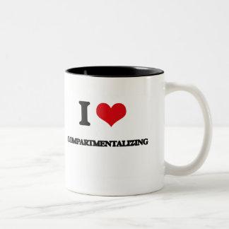 I love Compartmentalizing Coffee Mug