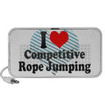 I love Competitive Rope Jumping Travel Speaker
