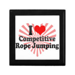 I love Competitive Rope Jumping Trinket Boxes