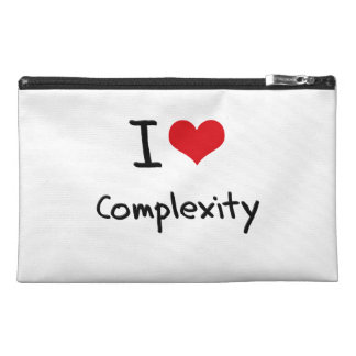 I love Complexity Travel Accessory Bag