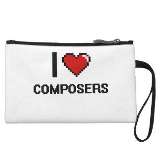 I love Composers Wristlet Purse
