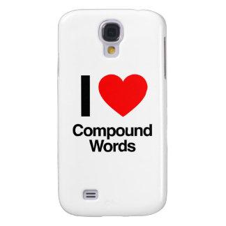 i love compound words galaxy s4 case