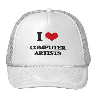 I love Computer Artists Mesh Hats
