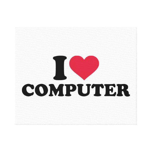 I love computer gallery wrapped canvas