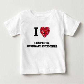 I love Computer Hardware Engineers Tee Shirt