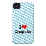 I love Computer iPhone 4 Case-Mate Case